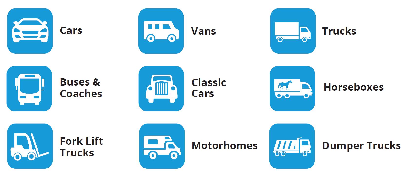 Vehicle Finance Car Truck Buses Coach Motorhome Fork Lift Classic Hp